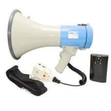Ручной мегафон РМ-25СЗ выносной микрофон, наплечный ремень и аккумулятор с з/у