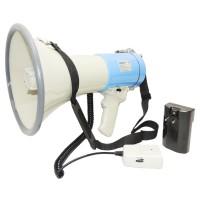 Ручной мегафон РМ-25С выносной микрофон, наплечный ремень и аккумулятор с з/у