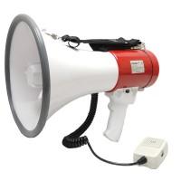 Ручной мегафон РМ-25СП c USB/SD/MP3/AUX и аккумулятором