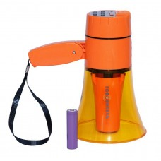 Ручной громкоговоритель на 20 Ватт РМ-10СЗП с аккумулятором записью и плеером