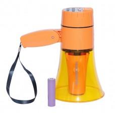 Ручной мегафон РМ-10СЗП с MP3 и записью 240 секунд, АКБ