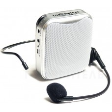 Мегафон с микрофоном на пояс РМ-70 серый