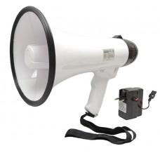 Ручной мегафон РМ-20СЗ с литиевым аккумулятором (речь, запись, сирена)