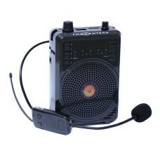 Усилитель голоса РМ-92 с беспроводным микрофоном, эхо, USB/microSD, Bluetooth